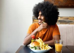 afro-burger