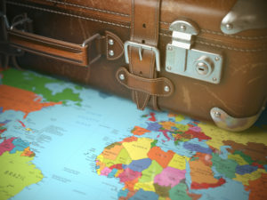 map-and-suitcase