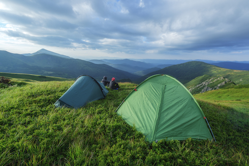 tents-on-a-hill